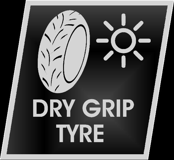 DRY GRIP TYRE